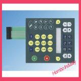Алюминиевые кнопки плиты выбивая кнопочную панель мембраны