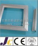 Solar Frameextruded de alumínio anodizado preto do perfil de alumínio (JC-P-82008)