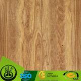 Papier en grains de bois de papier décoratif pour plancher