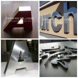 la Manche automatique L machine de méta d'aluminium de 220With 300With 400With 450W/acier inoxydable de soudure laser De lettre