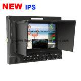 이중 3G/HD Sdi 7 이음새가 없는 스위치를 가진 인치 IPS HD Sdi 모니터