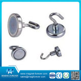 Pull Force Neodymium Magnetic Hook / Shield Magnet / Pot Magnet