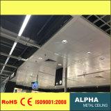 Clip suspendu par aluminium de panneau de plafond en métal dans le plafond de tuile