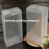 12X16X22cm Boîte à paquet personnalisée Clear PP Boîte unique en promotion Design (boîte à blanc)