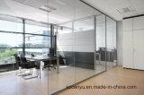 Divisória moderna do escritório que modera a parede de divisória de vidro para o tamanho personalizado
