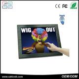 Moniteur tactile résistant à l'écran ouvert LCD 19 pouces