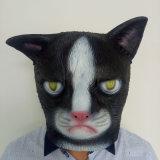Маска лицевого щитка гермошлема латекса маски Halloween латекса маски партии польностью головная