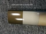 el satén 6063t5 anodizó el aluminio de Champán sacó perfil
