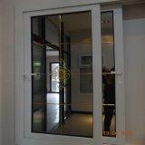 중국 PVC 단면도 프레임 스크린 메시를 가진 유리제 여닫이 창 그네 Windows