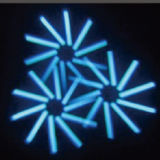 120W het LEIDENE van RGBW 4in1 Bewegende HoofdLicht van de Vlek