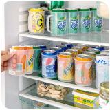 Organizador plástico da caixa do suporte da cozinha do alimento do recipiente do refrigerador da caixa de armazenamento