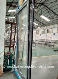 Portello di alluminio di traduzione della rottura termica funzionale di Woodwin