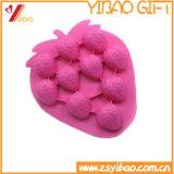 Eco-Friendly suportar altas Tempreature Heart-Shaped FDA/Grau Alimentício Bolo de Silicone Molde, bandeja de cubos de gelo bricolage /bandeja de doces bolacha Molde (XY-cm-61)