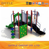 Kind-Spielplatz-Gerät mit Herausforderungs-Bergsteiger