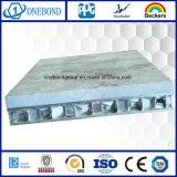 El panel de aluminio del panal de la piedra de la base de panal