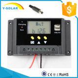12V/24V 20A conjuguent contrôleur de contrôle d'USB-5V/2A Light+Timer/régulateur solaires Sm20