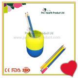 Sostenedor de escritorio de la pluma de la pluma de la caja de Penrack de la dimensión de una variable tubular plástica de la píldora