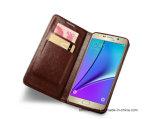 Caja móvil de cuero del teléfono celular de la PU para el borde etc de Samsung S8/S8plus/S7/S7