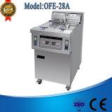 Máquina profunda comercial de la sartén de las patatas fritas del pollo del Ce de Ofe-28A