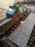 plasma do CNC do metal portátil e máquina de estaca de aço da flama com THC automático