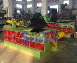 Máquina horizontal da prensa do ferro de sucata do metal