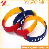 Изготовленный на заказ браслет Wristband/силикона для выдвиженческого подарка