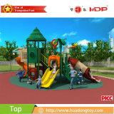 Novo parque infantil exterior de produtos de plástico para divertimento