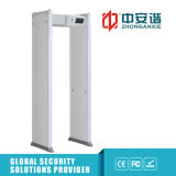 이동할 수 있는 기능을%s 가진 문틀 금속 탐지기 문을%s IP55 LCD 접촉 스크린 24/33 지역 디지털 금속 탐지기 도보