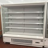 Refrigerador del refrigerador de la visualización del sushi del supermercado