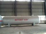 水平の中国の製造30mt 70cbm LPGのガスの弾丸タンク