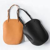 Signora di cuoio Handbag dell'unità di elaborazione di stile di modo di spalla della borsa ovale coreana d'avanguardia del sacchetto