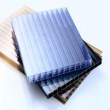 Folha Anti-Fog da cavidade do policarbonato da Multi-Parede do revestimento UV para a estufa