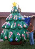 Árbol de Navidad inflable al aire libre gigante para el día de fiesta de Navidad