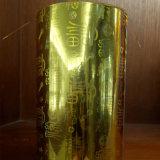 Sellado caliente de la hoja olográfica transparente