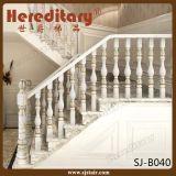 Railing алюминия отливки для нутряных лестницы и террасы (SJ-B009)