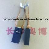 escovas de carbono manufacturering N19X da grafita da alta qualidade para os motores