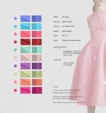 Colorido 20GSM moda poliéster Fábrica Fusible Interlining Tela