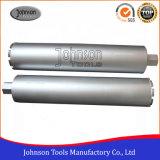Od102mm Diamant-Bohrgerät-konkreter Kernstoßbohrer für Aufbau