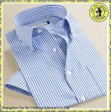 Chemise à manches courtes à manches courtes Chemise à manches courtes 100% coton
