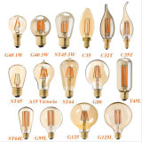 Dimmable Edison C35 4W E27 Clear Glass LED Filament Bulb