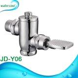 Foot Válvula de Descarga Operado Flush válvula de latón WC