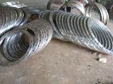 Bride du tuyau en acier inoxydable bague de soudure lâche la bride plate