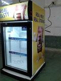 Витрина холодильника охладителя индикации напитка встречной верхней части в высоком качестве