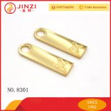 20 ans Fabricant Metal Name Tag Metal Zip Puller