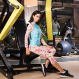 Abiti sportivi stretti di ginnastica di forma fisica della donna di compressione corrente di addestramento