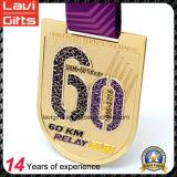 Medaglia su ordinazione del metallo di sport di sfida dell'oro