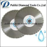 Влажное лезвие круглой пилы диаманта мрамора гранита диска вырезывания