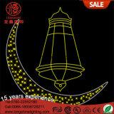 Al aire libre decoración islámica LED ramadan linternas artesanales luces decorativas