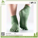 Venda Por Atacado Jump Indoor Indoor Non Slip Sox Yoga Sock Ankle Meias para trampolim
