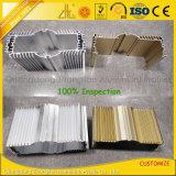 Fábrica de Alumínio 6061 6.063 Dissipador de alumínio extrudido industriais